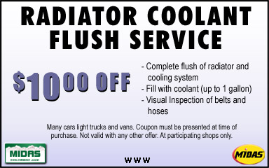 Stay cool and comfortable with Midas AC and heating diagnostic and repair services. Save money and keep your car on the right maintenance schedule with My Midas online tools. Rev up your savings and keep your car or truck golden with Midas online coupons.